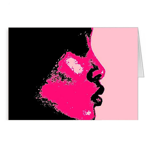 Art -'Kiss Pink'