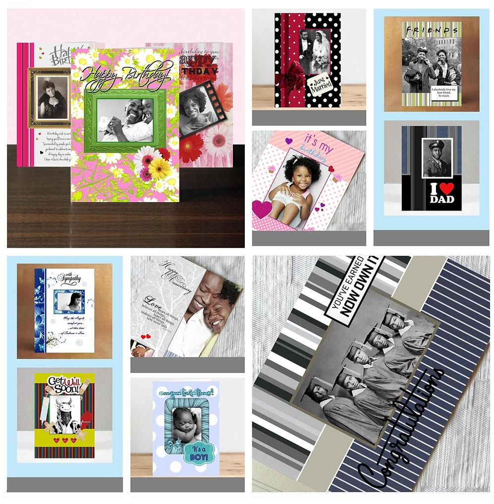 women, men, children birthday cards, wedding, friendship, sympathy, get well, congratulations, anniversary greeting cards