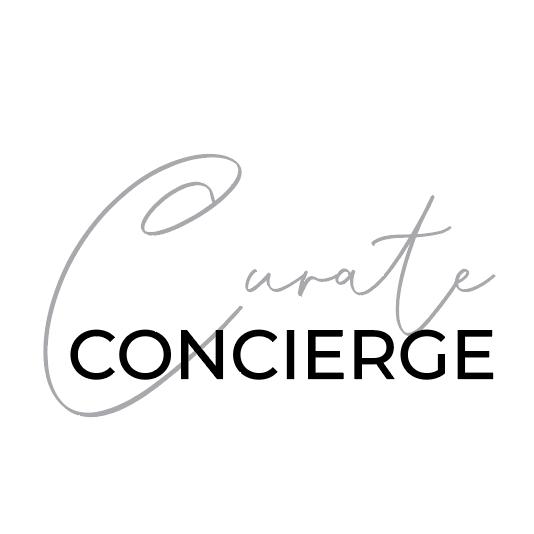 Curate Concierge Logo Design