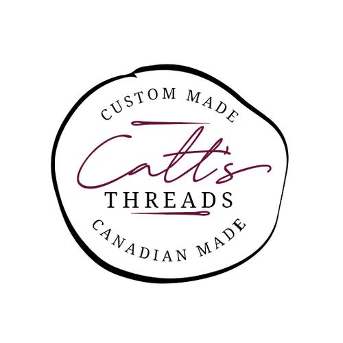Catt's Threads Logo Design