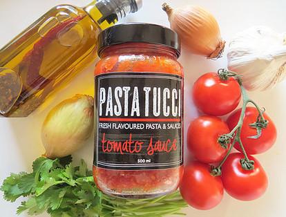Pasta Tucci Logo and Label Design
