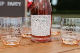 Tagline Wine Glasses