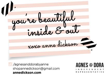 Agnes and Dora Post Card