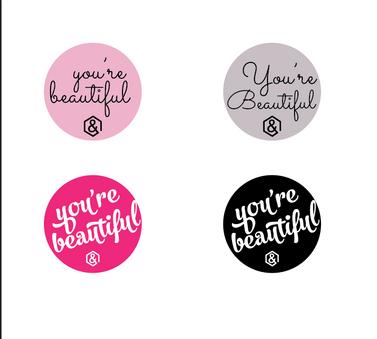 Agnes and Dora Sticker Design