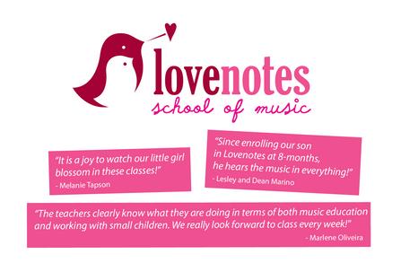 Lovenotes Post Card Design