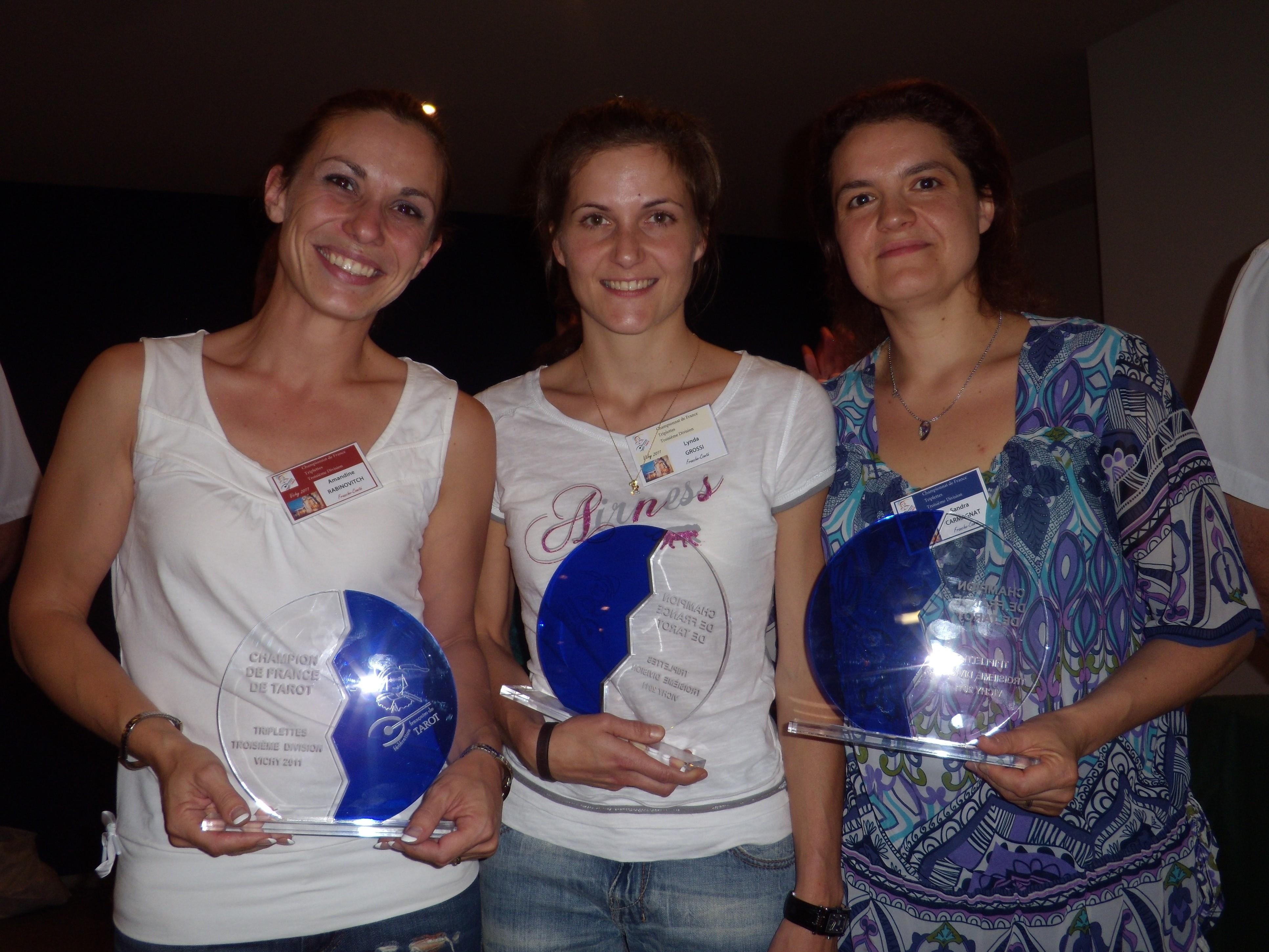 2011 Vichy Triplette D3 championnes