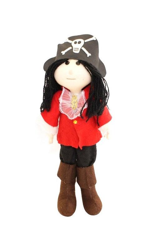 Boneco Capitão Pirata