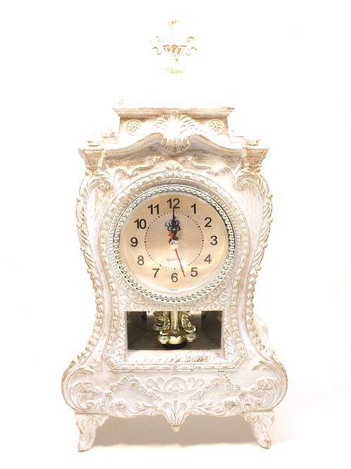Relógio de Mesa Branco