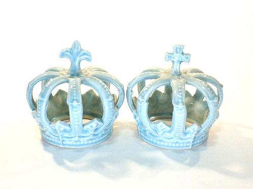 Duo de Coroas Azuis