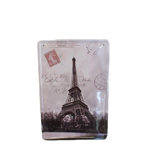Plaquinha Paris