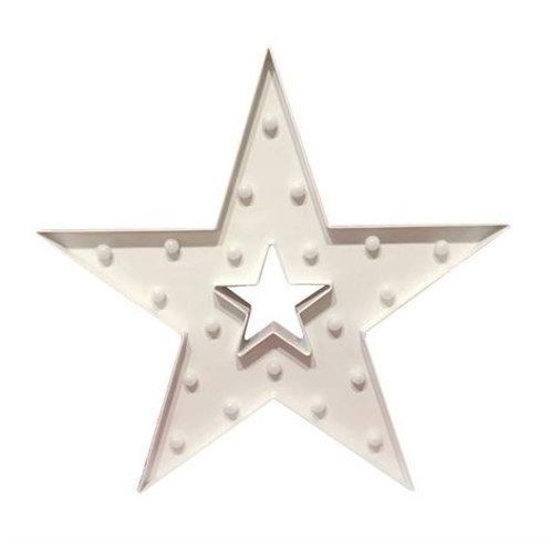 Luminoso Estrela Branca G