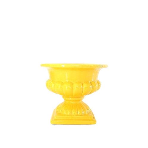 Vaso Amarelo Gema M