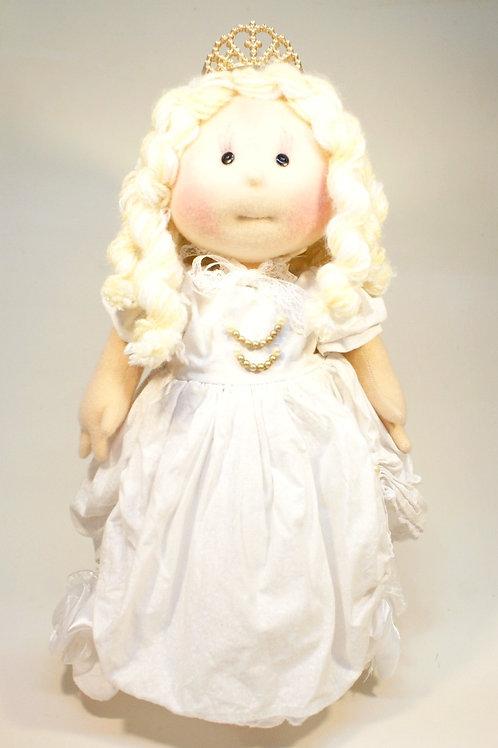 Boneca Rainha Branca
