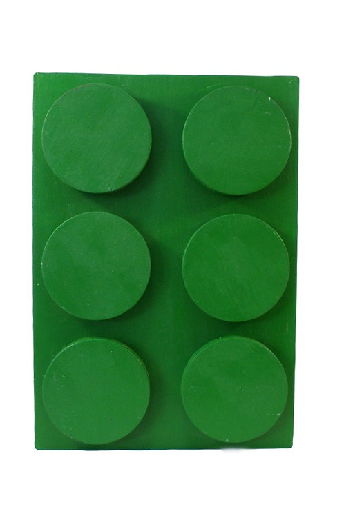 Cubo Lego Verde