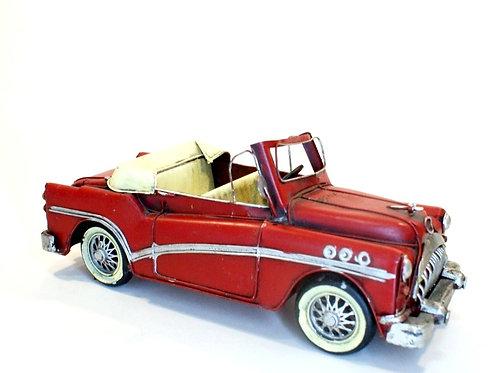 Carro Vermelho Retrô