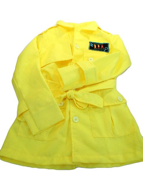 Jaleco DPA Amarelo