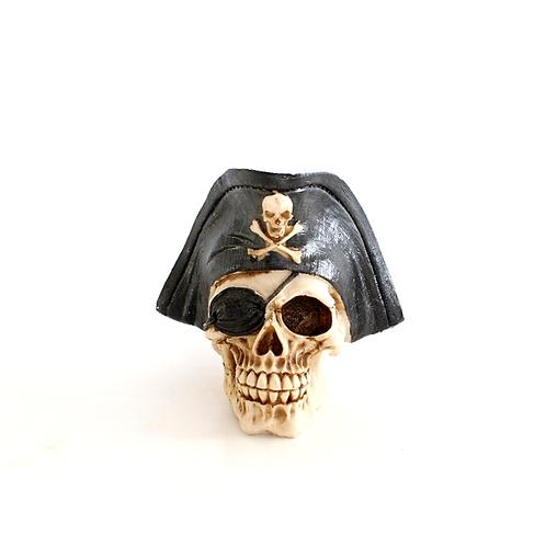 Crânio Pirata Preto
