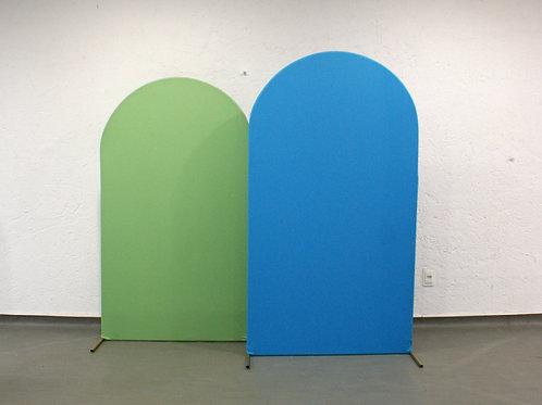 Duo de Arcos Romanos Azul e Verde