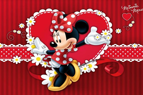 Painel Red Minnie