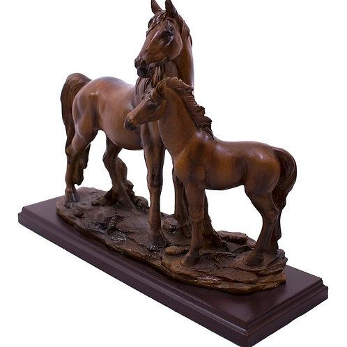 Escultura Cavalos