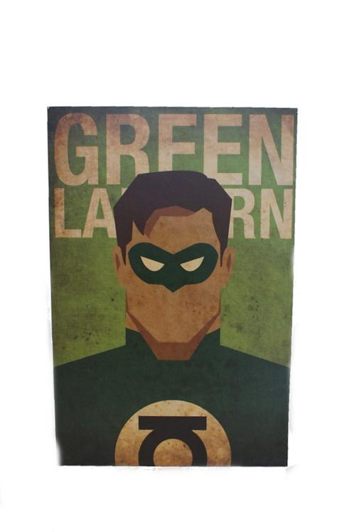 Plaquinha Lanterna Verde