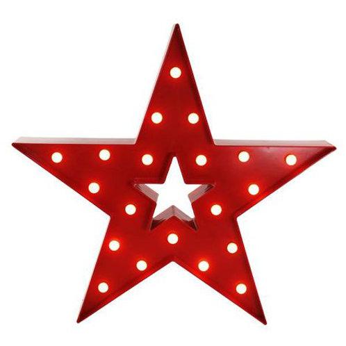 Luminoso Estrela Vermelha G