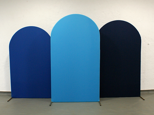 Trio de Arcos Romanos Azul Escuro
