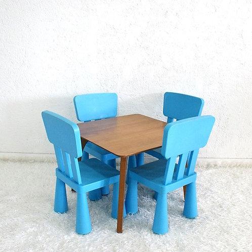 Conjunto Infantil Azul