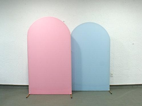 Duo de Arcos Romanos Azul e Rosa