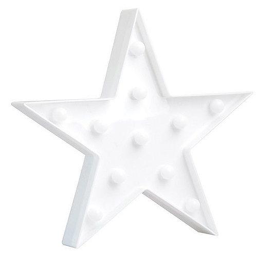 Luminoso Estrela Branca
