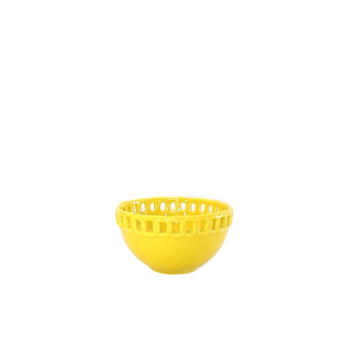 Bowl Amarelo Baixo