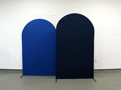 Duo de Arcos Romanos Azul Escuro