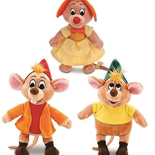 Trio de Ratinhos Cinderela