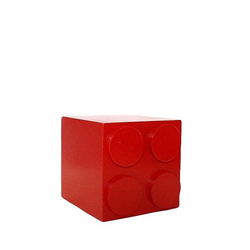 Cubo Lego Vermelho P