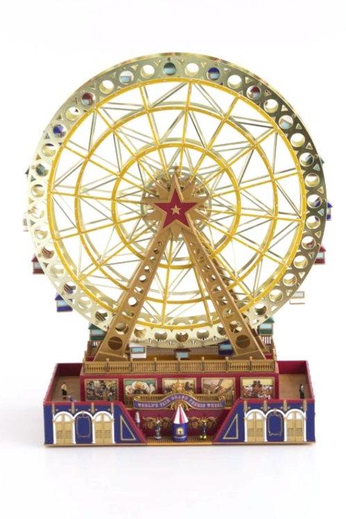 Roda Gigante Dourada