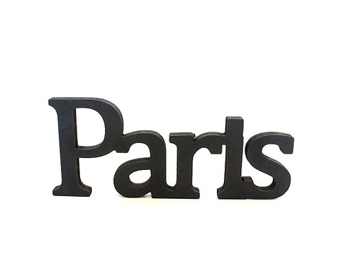 Letras PARIS