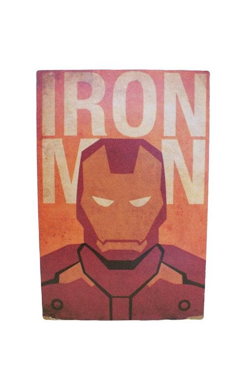 Plaquinha Homem de Ferro
