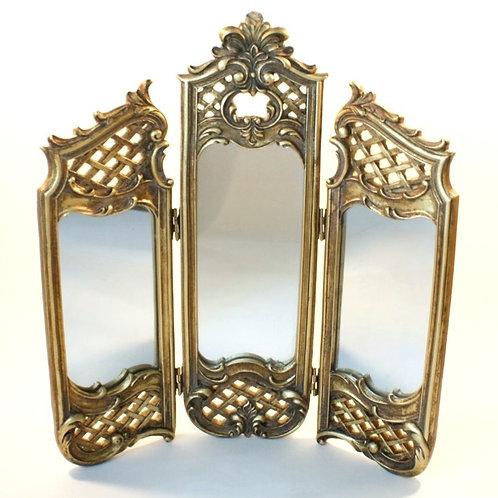 Espelho de Mesa Triplo