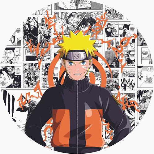 Painel Redondo Naruto