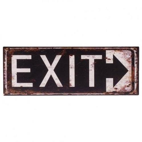 Placa Exit