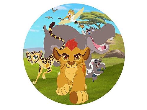 Painel Redondo Guarda do Leão