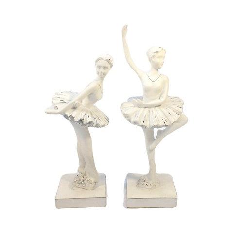 Duo de Bailarinas Base Quadrada