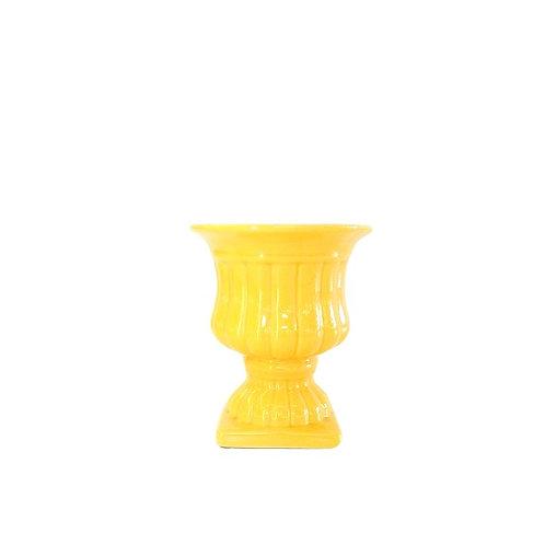 Vaso Amarelo Gema P