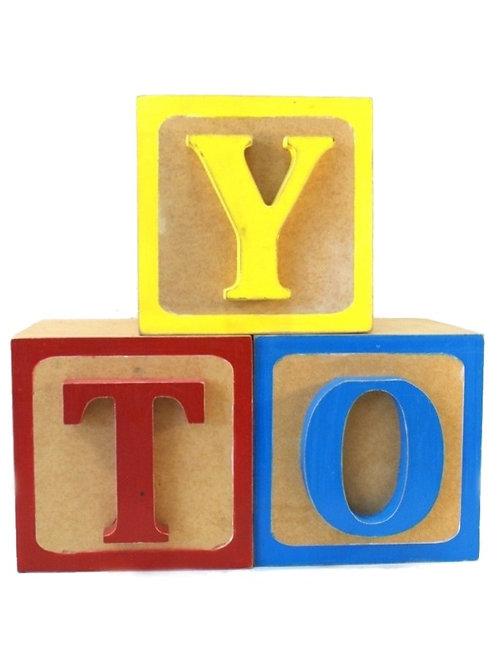 Trio de Cubos Toy