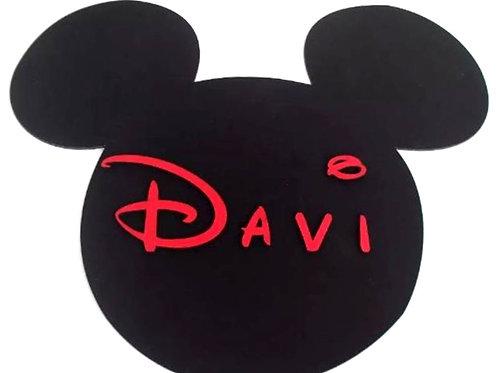 Placa Mickey/Minnie