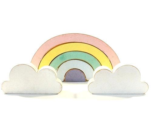 Arco Íris com Nuvens