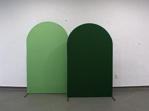 Duo de Arcos Romanos Verde