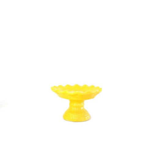 Boleira Amarela Ondulada