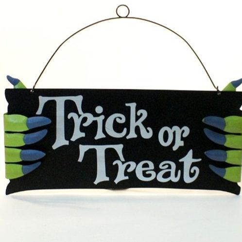 Placa Halloween