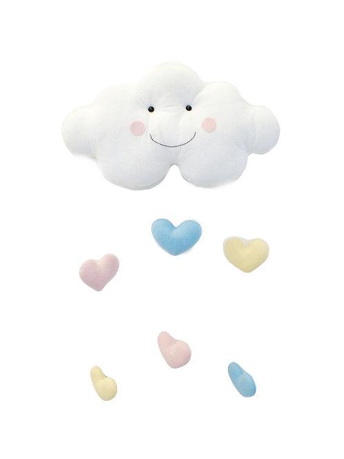 Nuvem com Corações